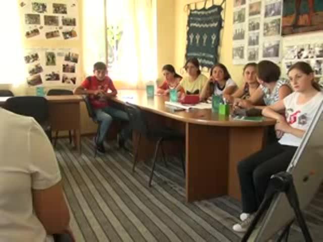 TV მეცხრე არხი, ახალგაზრდობის საერთაშორისო დღე ახალციხეში. 12.08.2015.
