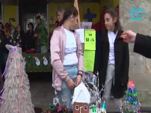 TV გურია, მოსწავლეების საქველმოქმედო აქცია. 21.12.2018.