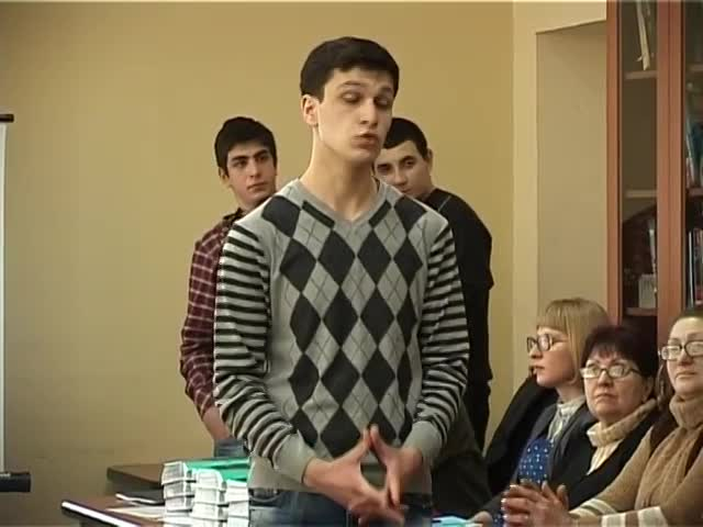 TV Ertsulovneba Literature quiz for promotion of reading Tbilisi school students 18 022012.mp4