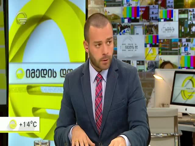 TV Imedi, Marina Ushveridze, Lia Gigauri, MT program and civics education 19.10.2017.