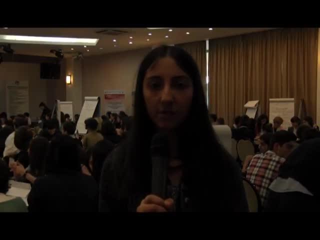 """TV """"Enki Benki"""" Youth Forum, April 2013."""