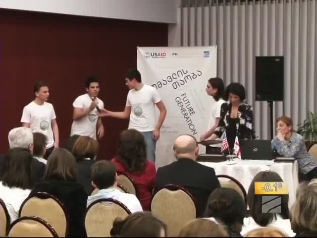 TV  Rustavi 2 covered students civics projects presentations in Tbilisi 19.02.2019.mp4