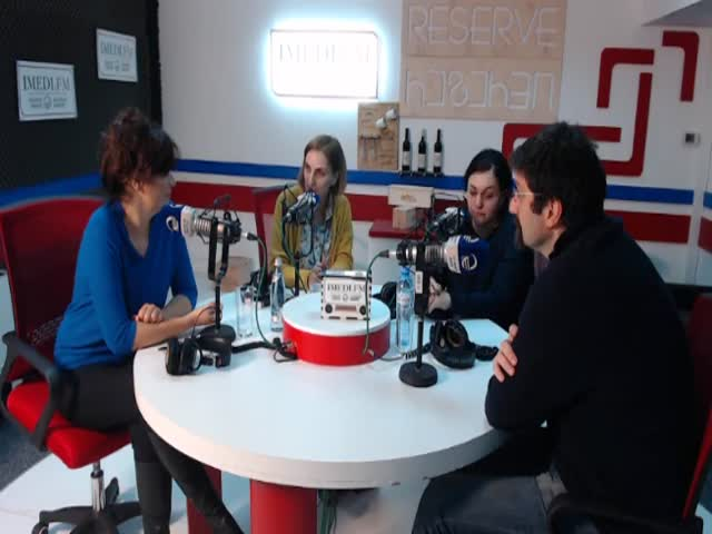 Radio Imedi hosted Marina Ushveridze and Simon Janashia to spoke about learning of civics education