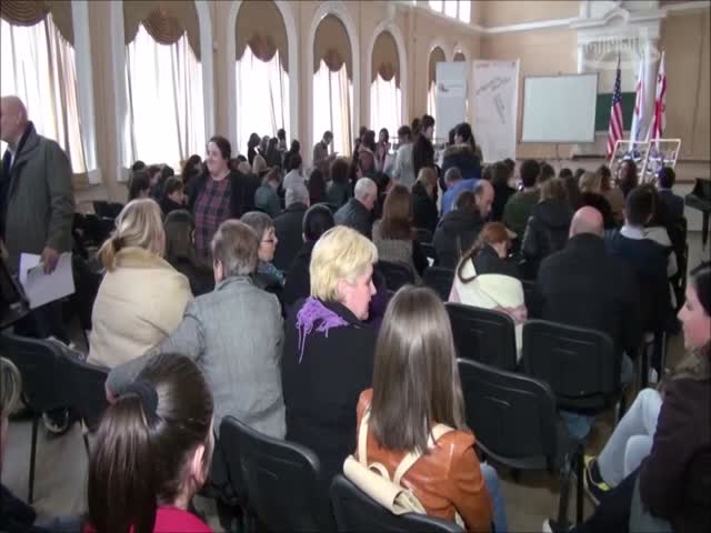 TV  Rioni  projects implemented by MT partner schools in Imereti region. 7.02.2019.mp4
