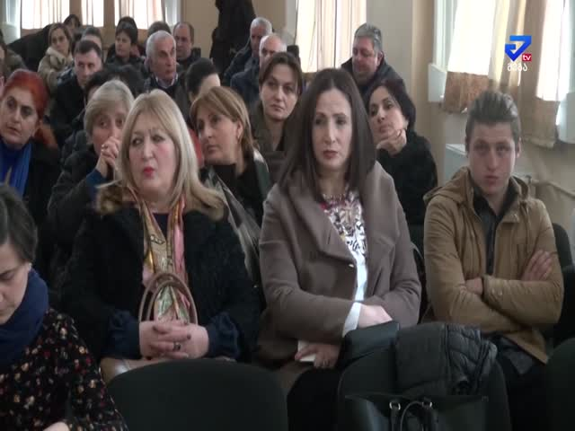 TV Maga TV presentation of civics projects by students in  Kutaisi Public School #1 07022019.mp4