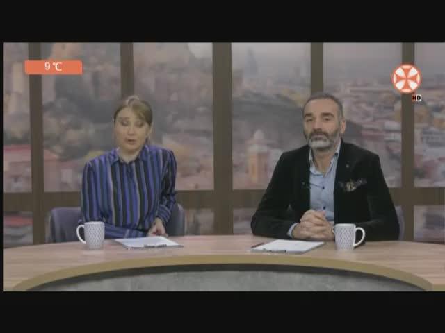 "TV ""Ertsulovneba""  greening action in Tbilisi  school #119 for the  prevention of  landslides  2.12."